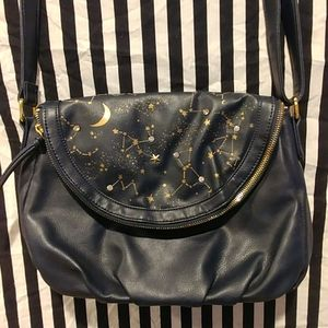 FLAPPER JAPAN NAVY STAR CONSTELLATION SKY PURSE